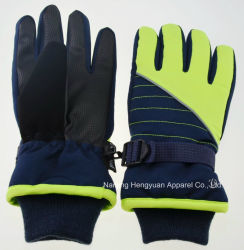 Warme wasserdichte windundurchlässige Ski-Handschuh-Schnee-Handschuhe/Winter-Handschuhe/Winter-Vlies-Handschuhe/Thinsulate Ski-Handschuhe