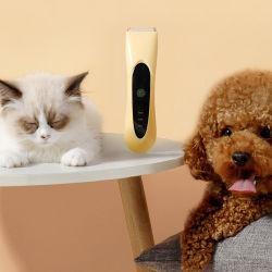 犬猫ペットのための毛クリッパーを作動させることYP7006電気コードレス容易