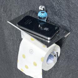De eenvoudige Hardware van de Badkamers van de Houder van het Document van het Broodje van Pool van de Houder van het Broodje van het Toiletpapier van de Houder van het Document van de Badkamers van Roestvrij staal 304 Enige