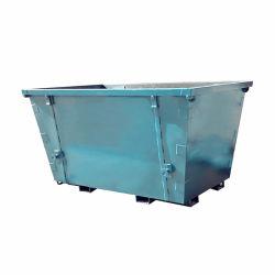 3000L屋外の鋼鉄スクラップのスキップの金属は大箱の金属の不用な大箱の構築の容器をリサイクルする
