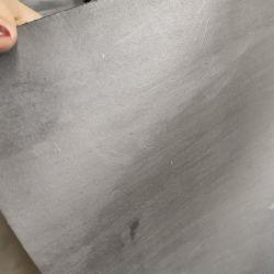 인쇄된 로고 철망사 석면 틈막이 장을%s 가진 Xb400 하나 측 입히는 흑연