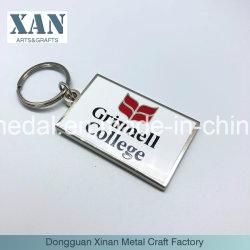 Cadeau promotionnel de l'émail de métal Trousseau/ Usine de chaîne de clé en alliage de zinc