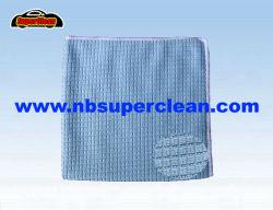 En microfibre Serviette de nettoyage de tricotage de trame pour la voiture, cuisine et salle de bains (CN3606)