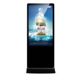 O Digital Photo Frame Ad Displayer 10.1 polegadas Publicidade Toque Porta leitor capaz de DVD