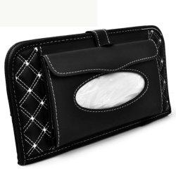CD Visier Organizer Auto Sonne Visier Tissue Bag Multi-Funktion Doppel-Deck Auto Extra Auto Fahrzeug Pocket CD Halter Visier mit Gewebehalter