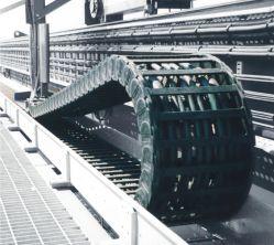 Plastikenergie-Ketten verringern Ausfallzeit u. erhöhen Nutzungsdauer der Kabel