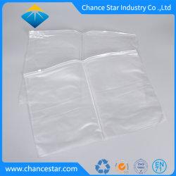 Sacchetto su ordinazione di imballaggio di plastica del PVC della radura per la coperta