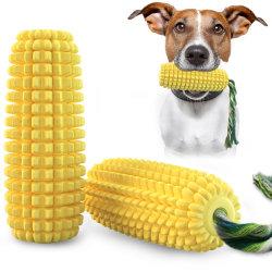 Giocattolo molare del cane del cereale dell'animale domestico del cane di giocattolo del cane con il bastone del fischio