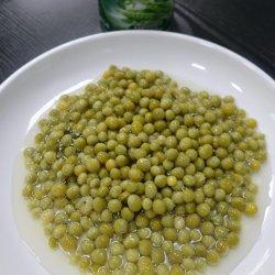 Frisches Getreide konservierte Bohnen in Büchsen konservierte grüne Erbsen mit Eigenmarke 340g in Büchsen