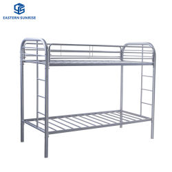 أثاث غرفة النوم مهجع معدني صلب يستخدم سرير بطابقين معدين بشكل منفصل