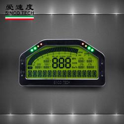 Gedankenstrich-Laufring-Bildschirmanzeige-Fühler-Installationssatz, Armaturenbrett LCD-Bildschirm (Do908)