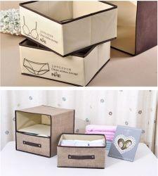 Не из картона поощрения съемные бюстгальтер нижнее белье коробка для хранения Whith 4 рукоятки
