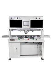 Einzelne Station-Impuls-Masseverbindung-Maschine Bondingacf und FPC Cof Nebel-Tabulator zu TFT IPS LCD Fernsehapparat
