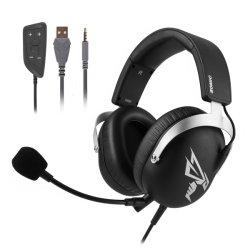 Somic G805 de 3,5 mm de USB 7.1 La reducción de ruido de sonido Surround Gaming auricular con micrófono desmontable para Ordenador PC PS4 xBox un teléfono móvil