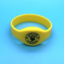 Meilleur rabais MIFARE Ultralight EV1 étanche de remise en forme de silicium bracelet RFID