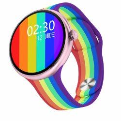 Senhora elegante relógio com discagem Bluetooth / Chamando, locais de reprodução de música, Música conectada ao auscultadores Tws, Sexo Feminino Ciclo fisiológico