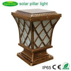 Illuminazione solare esterna europea della colonna del cancello di stile 5W di illuminazione delle decorazioni LED di natale