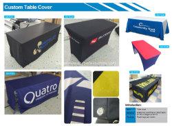 Lavable durable publicité pleine couleur 3D capot table