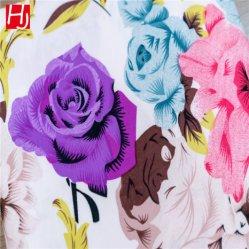 Custom 100% poliéster impresso escovado de tecidos têxteis