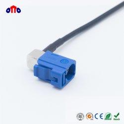 Câble coaxial RG174 en polyéthylène réticulé pour antenne GPS