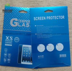 Accessoires de téléphone cellulaire d'impression personnalisé Film de protection de l'écran Emballage