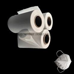 Горячий воздух высокого качества на заводе хлопок N95 Расплавом хлопка Non-Woven ткань фильтра сырья
