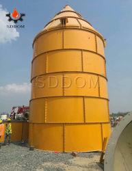 고품질 공장은 발송하게 준비되어 있는 중국에 있는 50 톤 시멘트 창고를 제공한다