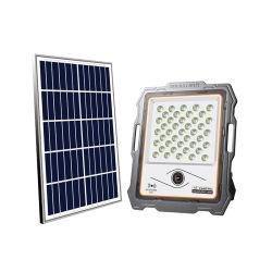 Nouvelle conception solaire de Vidéosurveillance Caméra de surveillance de lumière LED intégrée