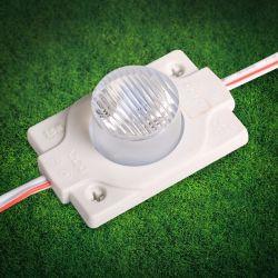Ultra lumineux de 2 Watt 12V 3030 SMD LED de signalisation du module d'injection de lumière pour le double signe du côté boîte