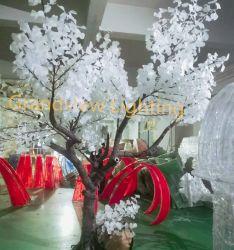 La excelente calidad de fábrica resistente al agua Artificial LED Arce en el exterior de la luz del árbol de Navidad