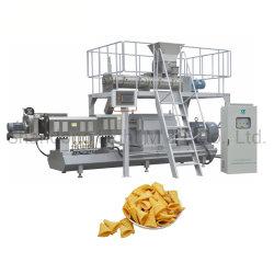 Bugles inchado Snack Doritos Máquina de fritura de alimentos da linha de produção de equipamento
