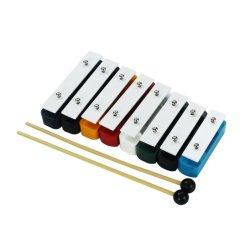 De hete Verkopende 8-zeer belangrijke Muzikale Instrumenten van de Percussie van Metallophone Glockenspiel voor Baby