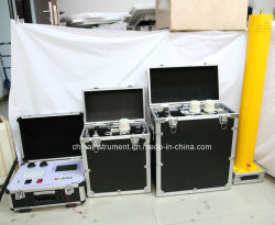 80 kv VLF تردد منخفض جدا AC Hipot Tester لكبل الطاقة 35 kv