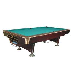 Professional Pool Bilhar Snooker em madeira maciça elegante com um pano de grau superior
