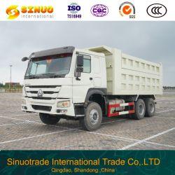 Usa HOWO 10 ruedas de camión volquete 6X4 de segunda mano Sinotuck Camión Volquete camión pesado mejor estado de elevación central Precio competitivo Venta caliente para el mercado de África