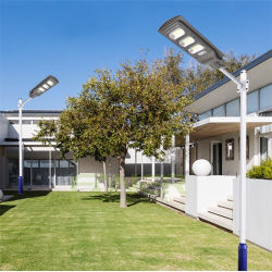 Светодиодный индикатор на улице 50Вт Светодиодные лампы на улице солнечной энергии - все в одном светодиодный модуль освещения улиц