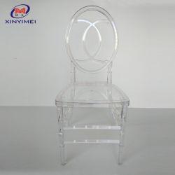 El precio bajo el hielo clara Chiavari resina resina silla de plástico de la boda colorida silla Chiavari