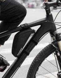 Valigia attrezzi di riparazione del pacchetto del tubo Ultra-Light del sacchetto del triangolo del blocco per grafici anteriore della bicicletta della bici di Rockbros piccola che cicla gli sport esterni accessori