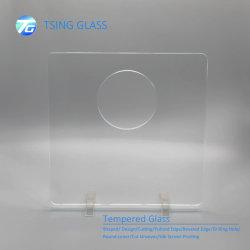 vetro bianco eccellente temperato galleggiante ultra chiaro Polished di vetro laminato del bordo di 6/8/10/12mm per la mobilia dell'armadietto di esposizione della vetrina