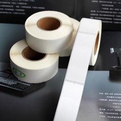 La impresión personalizada troqueladas de códigos de barras Venta caliente/PVC PET/PP papel sintético resistente al agua de la etiqueta de Transferencia Térmica Directa