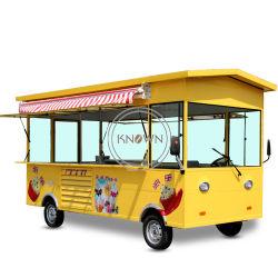 Automobile multifunzionale personalizzata dell'alimento del chiosco dello schermo di tocco del carrello di vendita dell'alimento del camion elettrico dell'alimento