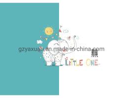 Haut de gros d'usine Cartoon Cute motif tissu de coton à broder le rideau pour les enfants