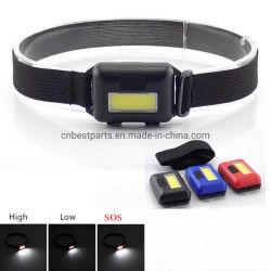 Mini Lampe torche LED COB Projecteur lumière batterie AAA Lanterne Lampe torche frontale