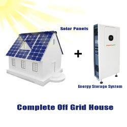 Fabricant de la batterie rechargeable cycle profond 48V 100Ah 4.8Kwh Ess Système de stockage de l'énergie accueil Grille de l'énergie solaire système hors tension tout en un système de stockage de l'énergie