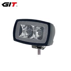 Emark R10/R23 10W 3pulgadas Spot difundido retroceso LED de inundación de la luz de trabajo para el coche todoterreno camión tractor (GT1012-10W)
