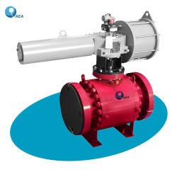 Válvula de Control Montada sobre Muñón Accionada Hidráulicamente Neumática Eléctrica Válvula de Cierre de Emergencia Válvula ESD Esdv