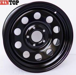 4X4 17X8 модульного черного цвета для автомобиля с помощью колесных дисков 4X4 напрямик стальные колеса