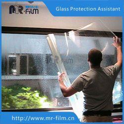 2mil película de segurança em vidro transparente na janela de segurança à prova de explosão filme para casa e escritório