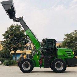 Forload 1.5t 2t 2.5t 및 3T 텔레스코픽 휠 로더, Xinchai Yunnei 또는 Cummins 엔진이 장착된 롱 암 휠 로더