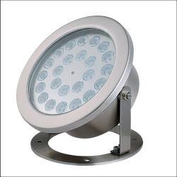 Projection IP68 24v Autocontrol couleur RGB ou RGBW DMX Piscine subaquatique de lumière LED 36W